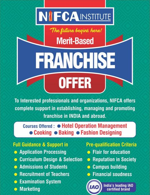 Nifca Institute Training Institute Franchise Opportunity Smergers