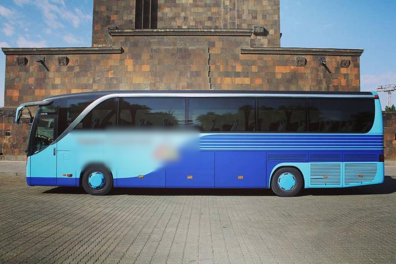 Charter Bus Company for Sale in Yerevan, Armenia