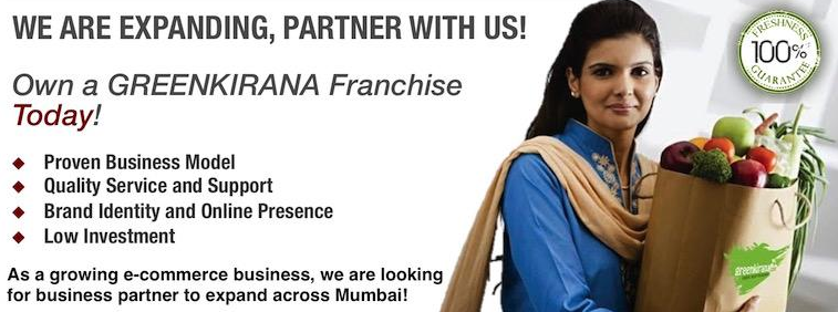 Greenkirana Grocery Shop Franchise Opportunity