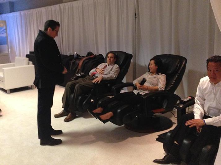 Massage Chair Business Seeks Loan in Bangalore, India