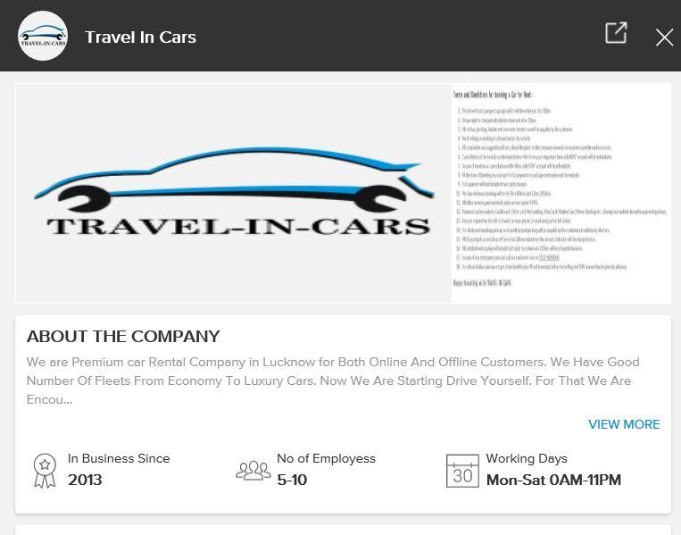 Travelincars Franchise Opportunity