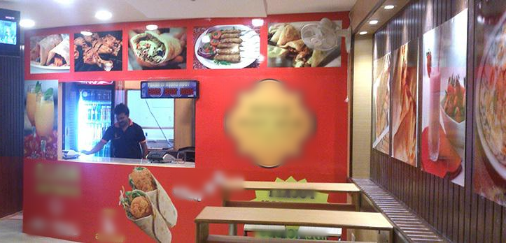 Newly Established Fast Food Restaurant for Sale in Gurgaon, India