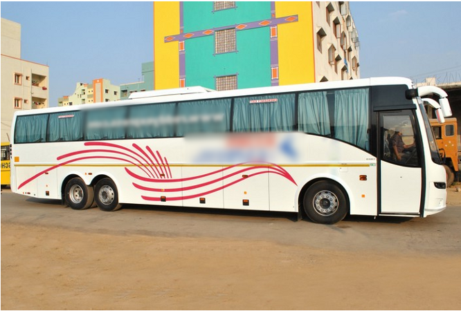 Charter Bus Company for Sale in Hyderabad, India