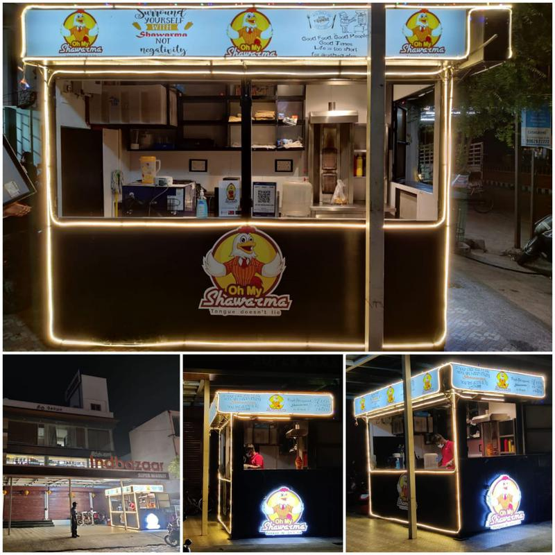 Oh My Shawarma (Eclectic Foods Private Limited) Franchise Opportunity