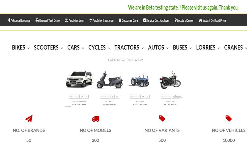 Auto Dealer Investment Opportunity in Bangalore, India