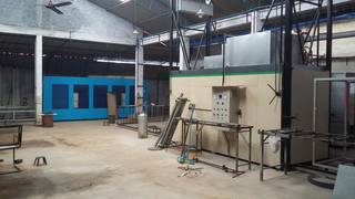 Business manufacturing powder coating ovens, selling to 25 businesses in Kerala.