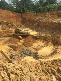 Business with a rich alluvial gold deposit land in Ghana seeks funds to start mining.