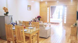 Serviced apartment with 27 contemporary, fully furnished rooms in the city centre.