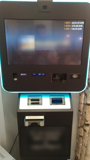 Company trades in 3 crypto currencies and operates a network of Bitcoin ATMs.