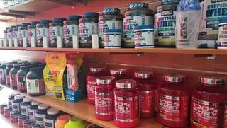 Store and e-shop selling nutrition supplements, sporting shoes and clothes looking for investment.