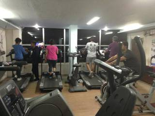 Unisex Gym and fitness center equipped with imported equipment and has 1,000+ registered members.