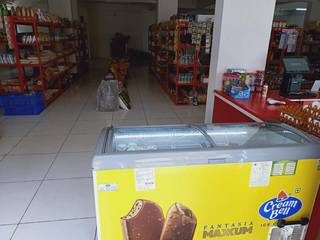 Newly started spacious supermarket with live kitchen bakery seeks investment for marketing and expansion.