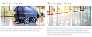 Long standing cleaning contractor company with big box store clients seeks to expand its reach.