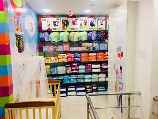 Franchised baby store of a leading brand in India, sells 10+ different category of products.