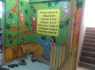 Two playschools operating under the same business name having 6 teachers and 60 kids collectively.