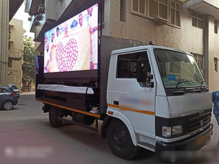 For Sale: Outdoor advertising company that provides LED advertising truck services in Gujarat.