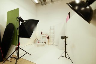 Photography studio located in a well known shopping mall in Ostroleka, Poland, receiving 5-10 daily customers.