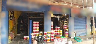 Retail shop located on the main road, sells paints and hardware fittings, seeks funds to purchase inventory.