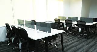 Co-working space with 400 seats in Sector 39, Gurgaon.
