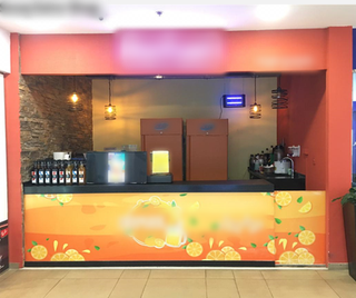 For Sale: 1 juice center and 5 kiosks setup (standby) along with license and staff.