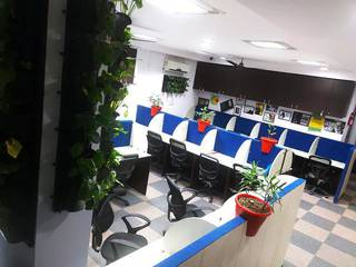For Sale: Co-working space located 100 meters away from metro station with indoor vertical garden.