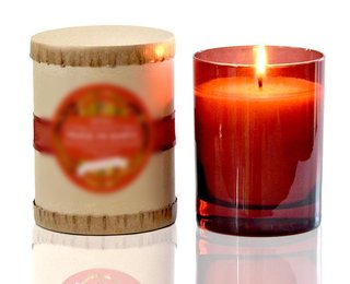 American based manufacturer of aromatherapy natural coconut wax candles with pure plant essential oil aromas.