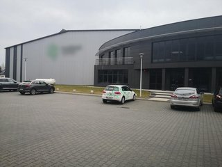 Warehouse of 7,000 Sq M with workers and equipment for sale.