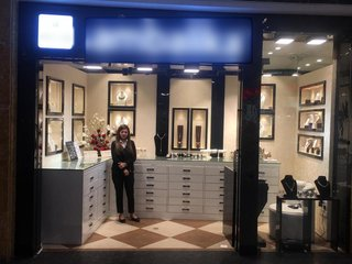 Silver jewellery store in a mall in Dehradun receiving average daily walk-ins of 35 individuals.