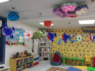 Independent nursery with 70 kids having our own copyrighted international curriculum.