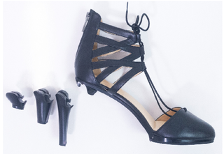 Startup looking to produce patented women's heels that can be transformed to flat shoes.