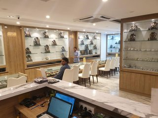 Retail outlet selling silver and other precious jewellery, with customer base across Andhra Pradesh and Telangana.