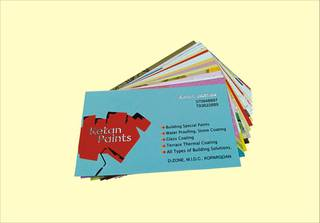 Firm provides typesetting & printing services for business cards, catalogs and brochures.