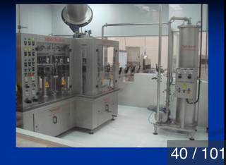 Non-operational mineral water bottling plant which has a production capacity of 24,000 liters per hour.