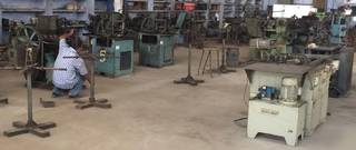 Asset Sale: Used Machinery for the manufacture of motorcycle chains.
