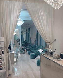 For Sale: Luxury ladies salon for hair and nail treatment services that has 1,500 customers.