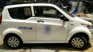For Sale: Company that provided commute services using electric vehicles in Hyderabad.