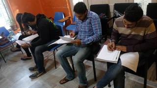Entrance exam training center based in Kolkata coaching an average of 200 students per year.