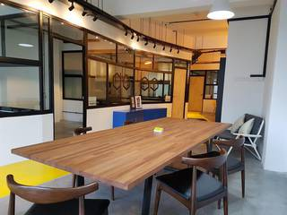 Real-estate investment company with rental income from 2 residential and 1 co-working office space.