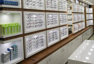 For Sale: Optical store located near a well-known eye clinic in Palakkad with all amenities.