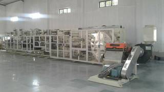 We propose to sell the factory and machinery for sanitary napkin production.
