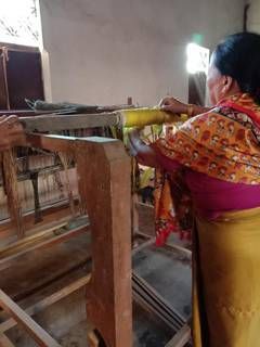 Traditional clothing manufacturing business running over a decade in Manipur seeks investment for expansion.
