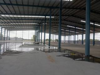 4 acre land with 1.1 lakh sqft warehouse near Bangalore is available for rent.