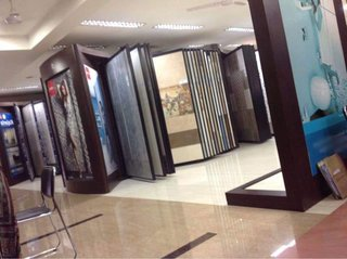 Tiles and sanitaryware retail outlet in Salem with leading brands and good clients.