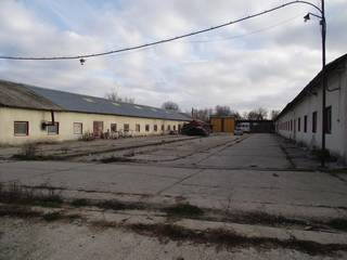 Furniture factory with land for sale in Merisani, Romania.