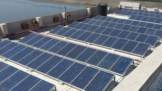 Solar plant installation business require funds to complete ongoing projects.