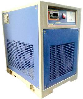 Company manufactures 200 compressors per month majorly catering to automobile and the PET manufacturing industry.
