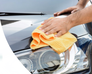 Business offering car cleaning services to customers in Jaipur through mobile app and website.