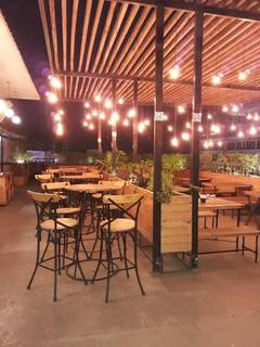 Restaurant, cafe & brewery with FL III and BRL licence having 175 seats capacity.