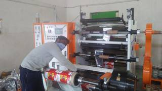 Company with 50 clients across India manufacturing flexible packaging lamination for different industries.