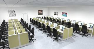 Call center with 150 seats having 5 clients, seeks investment for business expansion.